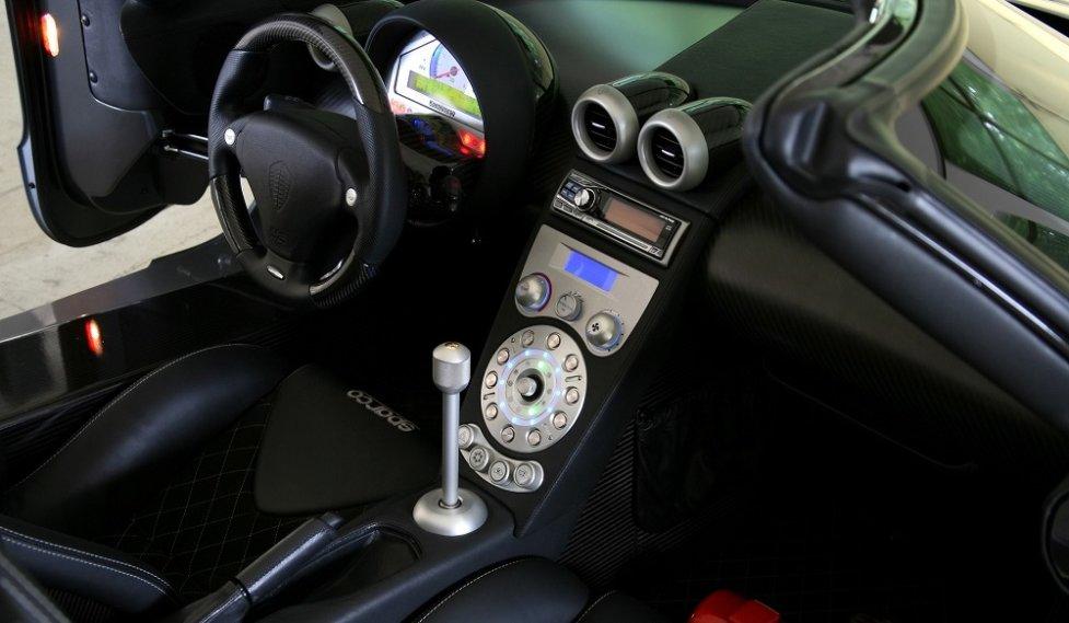 Интерьер Koenigsegg CCXR Trevita