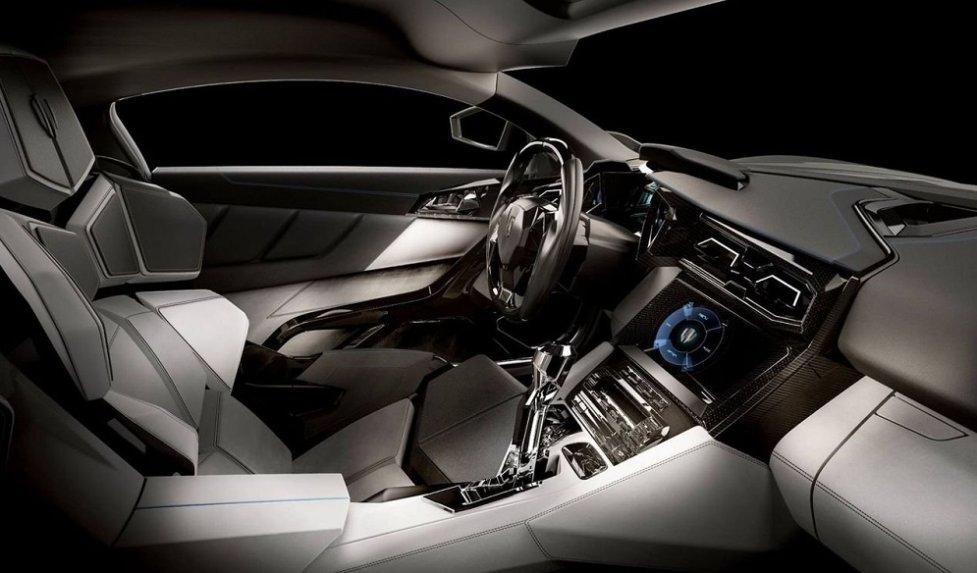 Интерьер W Motors Lykan Hypersport