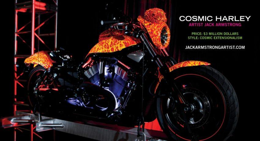 6 строчка - Harley Davidson Cosmic Starship в рейтинге самых дорогих мотоциклов