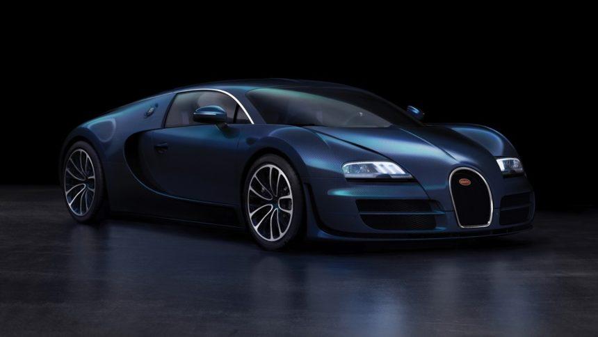 4 строчка — Bugatti Veyron Super Sport в ТОП самых быстрых машин в мире.