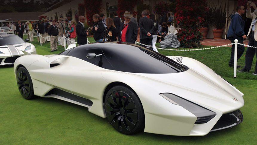 3 позиция -SSC Tuatara в ТОП самых быстрых машин в мире.