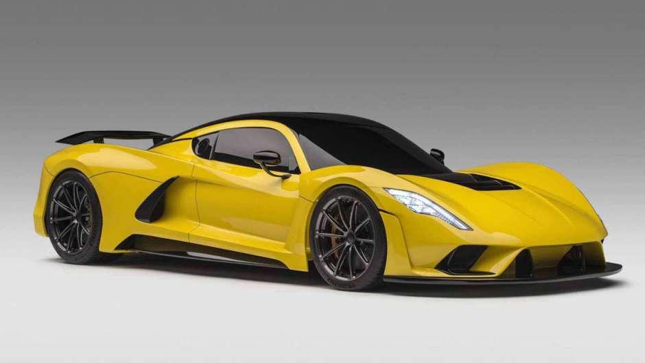 самая быстрая машина в мире Hennessey Venom f5z