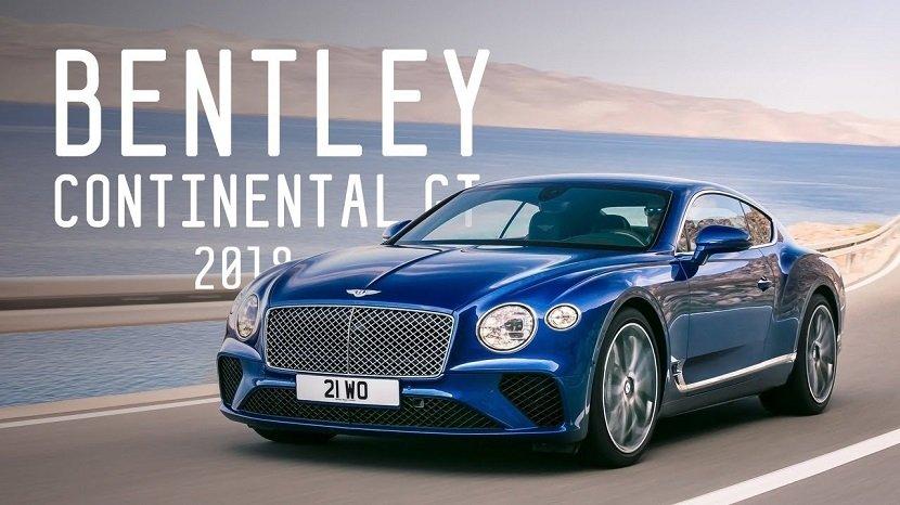 британский спорткар - Bentley Continental GT