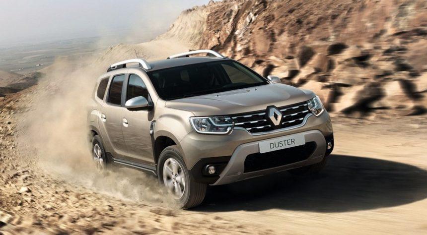 новый паркетник Renault Duster