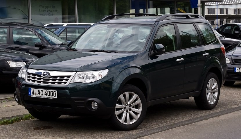 4 ступень -Subaru Forester III