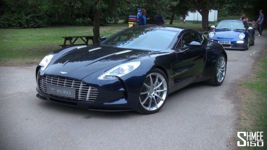 Aston Martin One-77 чуть менее , чем самая быстрая машина в мире
