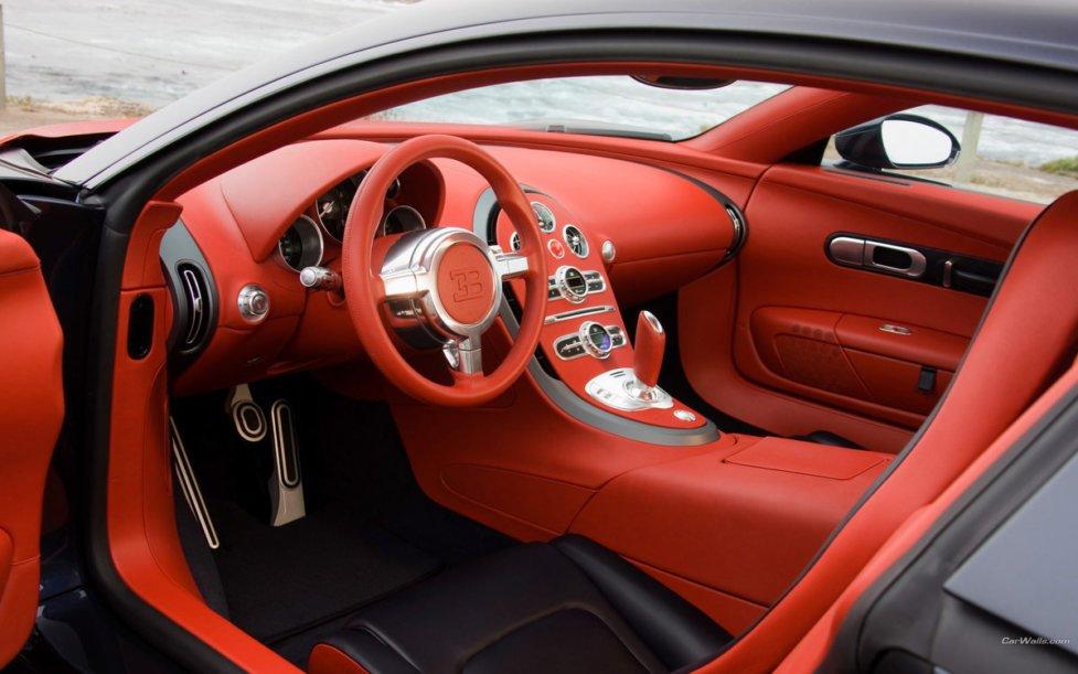 Интерьер Bugatti Veyron Super Sport