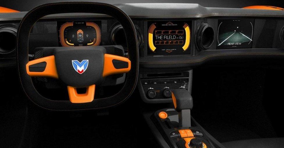 Интерьер Marussia B2