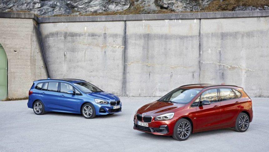 обновленные BMW 2-Series Tourer и 2-Series Gran Tourer
