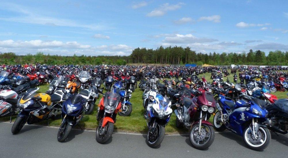Самые популярные мотоциклы в России