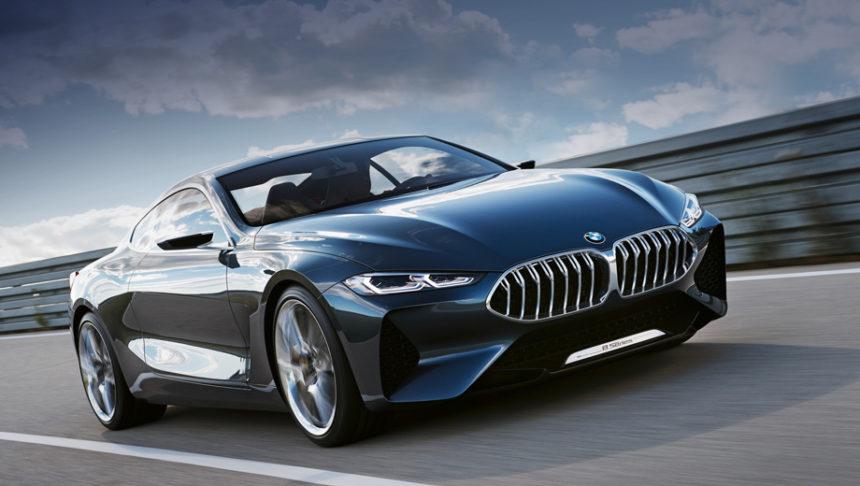 немецкий производитель недавно представил BMW 8 series