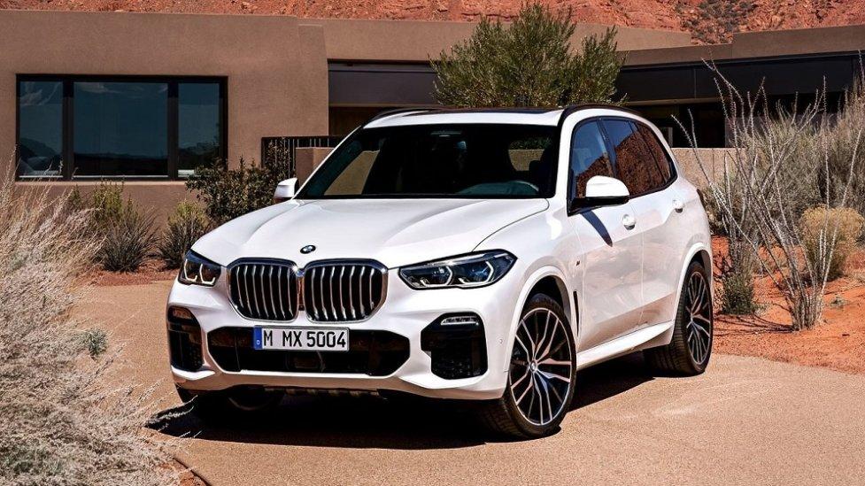 Новый немецкий кроссовер BMW X5