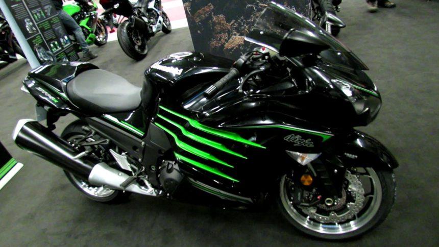 Kawasaki Ninja ZX-14R - находится на 9 месте в рейтинге самых дорогих мотоциклов в мире