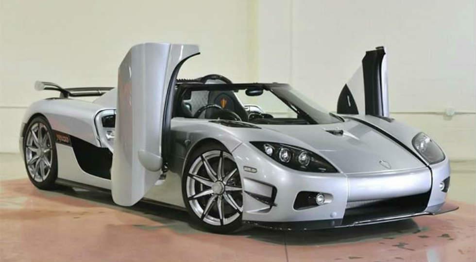 шведский производитель недавно представил самую красивую машину в мире Koenigsegg CCXR Trevita