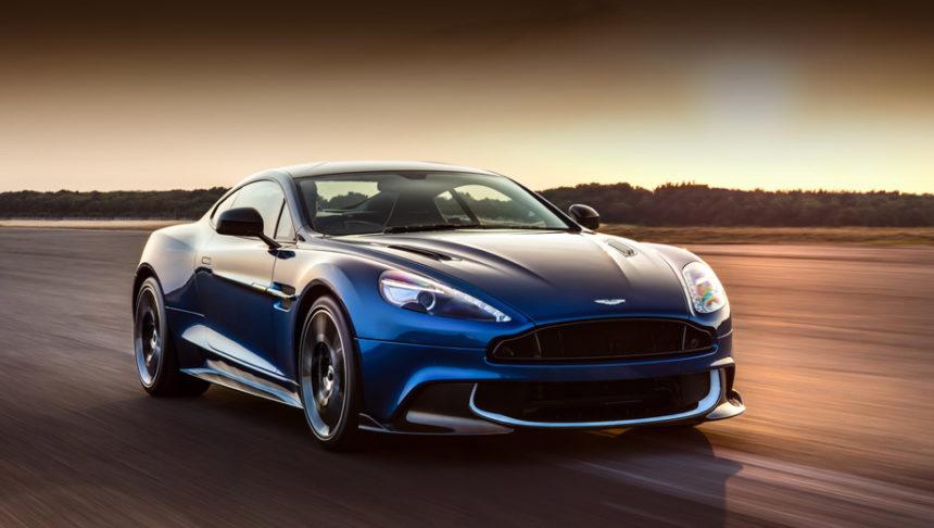 британцы показали свой самый красивый автомобиль в мире Aston Martin Vanquish S