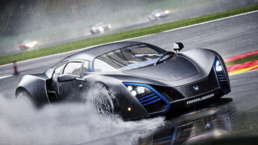 россияне показали свой самый красивый автомобиль в мире Marussia B2