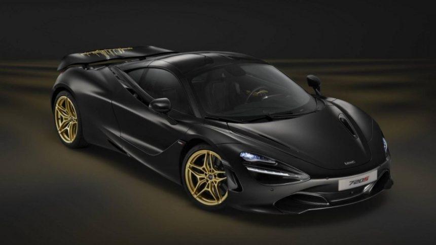 британский производитель недавно представил самую красивую машину в мире McLaren 720S