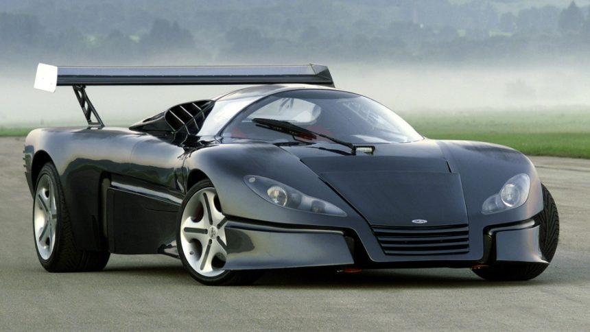 британский производитель недавно представил самую красивую машину в мире McLaren X-1