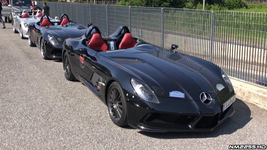 немцы показали свой самый красивый автомобиль в миреSLR Stirling Moss