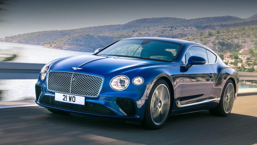 британцы показали свой самый красивый автомобиль в миреBentley Continental GT