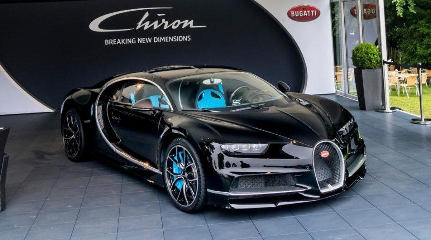 итальянский производитель недавно представил самую красивую машину в мире Bugatti Chiron