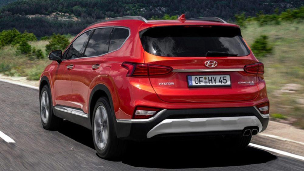 корма Hyundai Santa Fe