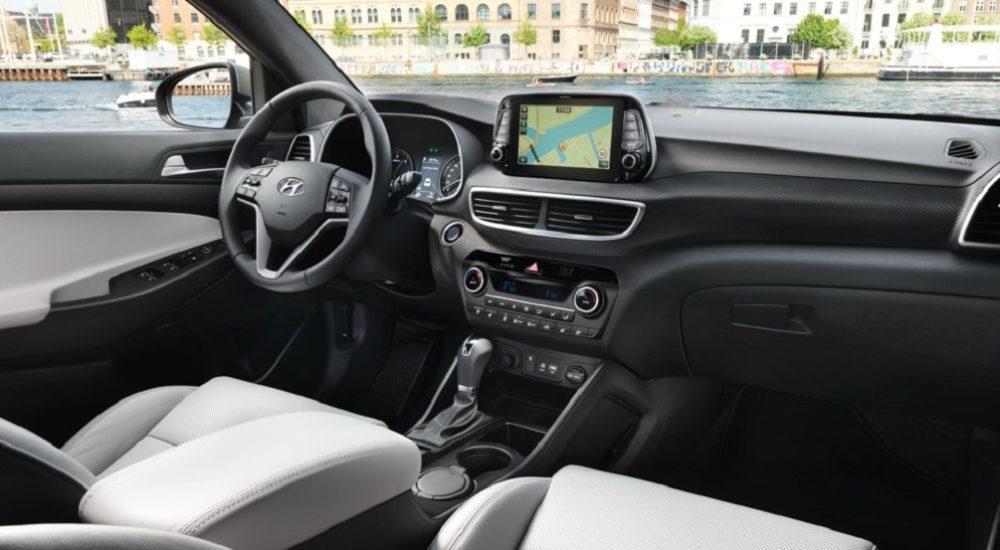 Интерьер обновленного Hyundai Tucson