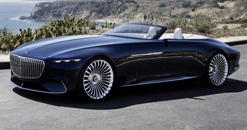 немецкий производитель недавно представил самую красивую машину mercedes maybach 6