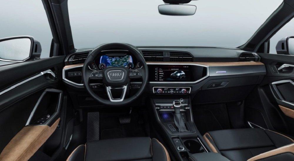 Интерьер нового Audi Q3