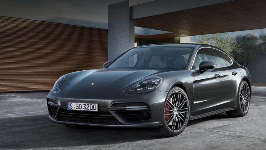немцы показали свой самый красивый автомобиль в мире Porsche Panamera