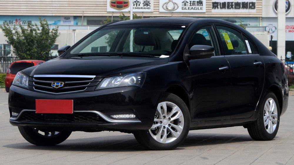 Лучший китайский среднеразмерный седан Geely Emgrand 7