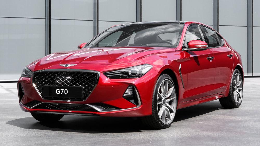 Новый премиальный бизнес-седан Genesis G70