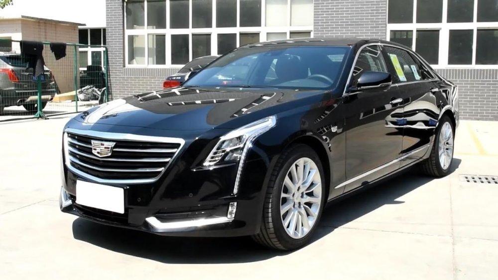 Флагман американской компании премиум-седан Cadillac CT6