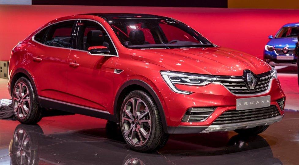 Сегодня состоялась официальная мировая премьера нового французского кроссовера Renault Arkana для России