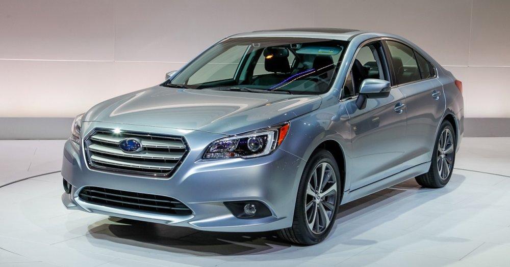 Лучший бизнес-седан Subaru Legacy