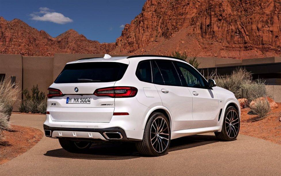 Корма BMW X5