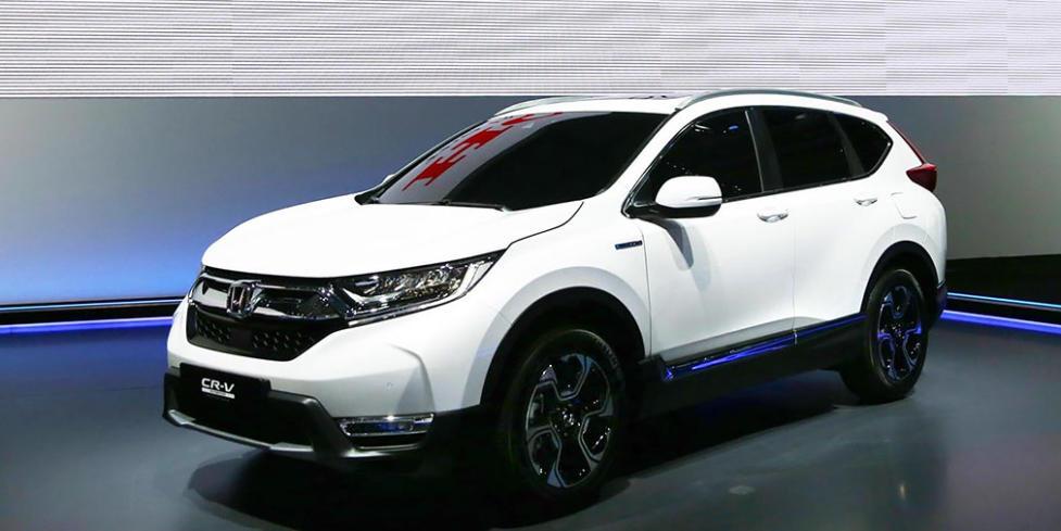 Гибридный кроссовер Honda CR-V для Европы