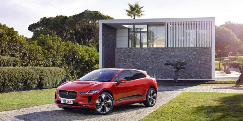 Британский электрический кроссовер Jaguar I-Pace для России представлен официально
