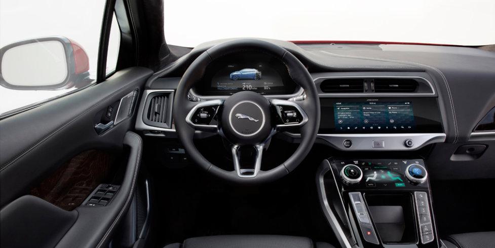 Интерьер Jaguar I-Pace 2019 модельного года