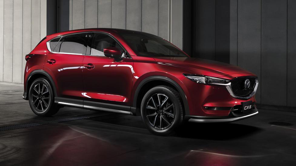 Обновленный кроссовер Mazda CX-5 2019 модельного года