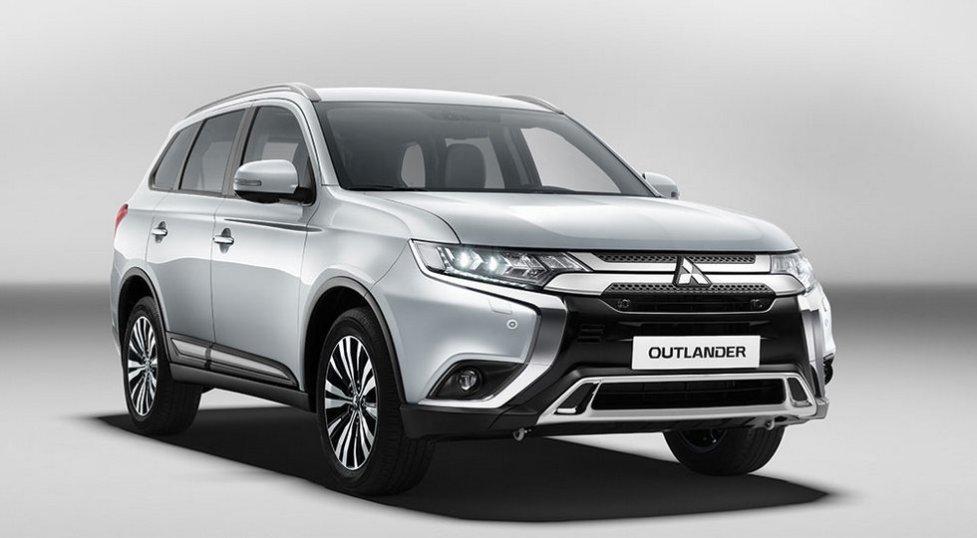 Обновленный Mitsubishi Outlander 2019