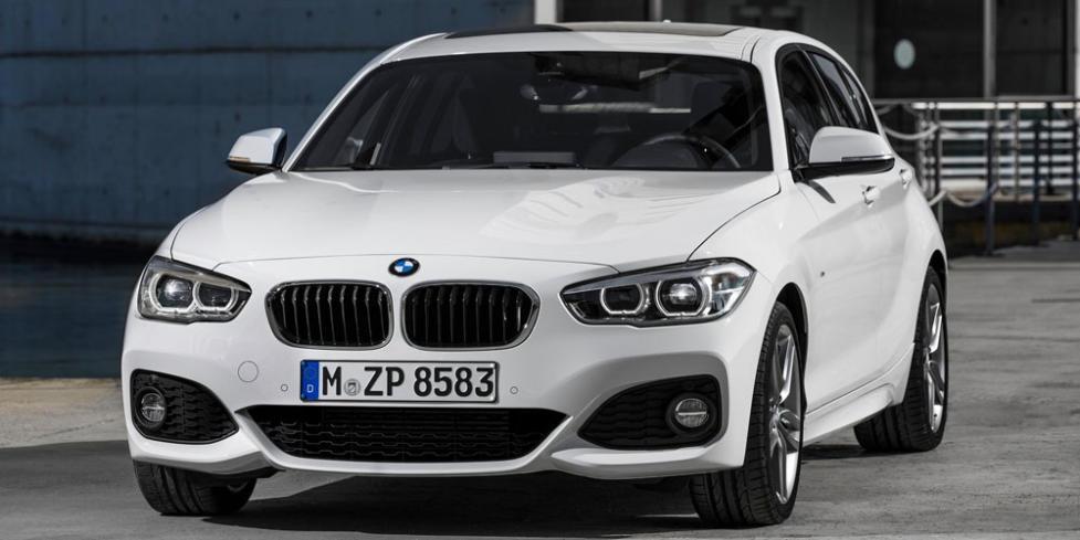 Немецкий хэтчбек BMW 1 Series