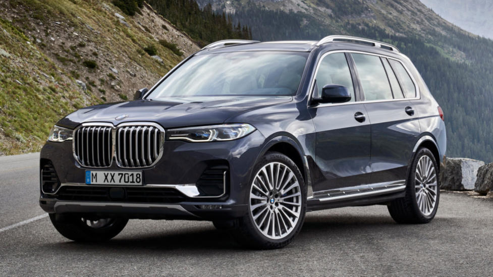 Новый флагманский кроссовер BMW X7