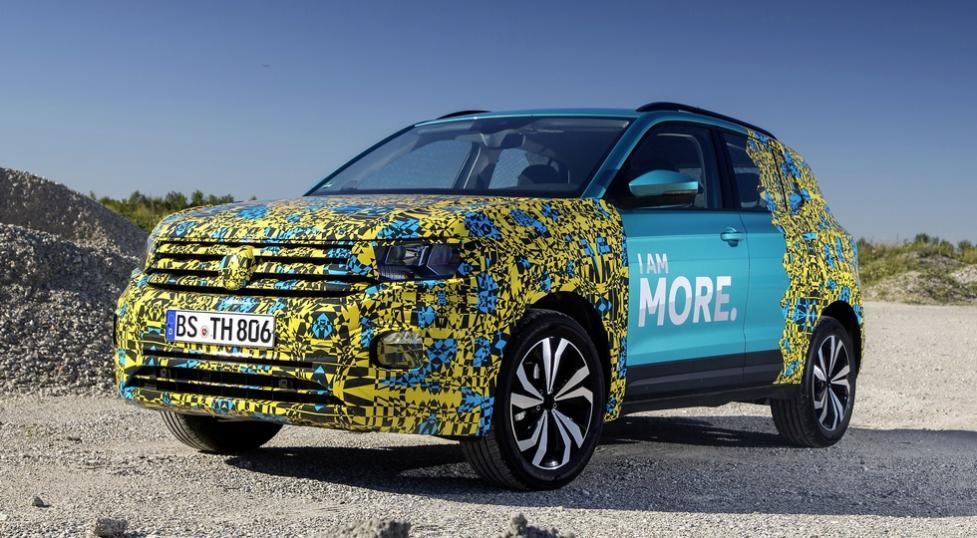 Первые фото нового кроссовера Volkswagen T-Cross