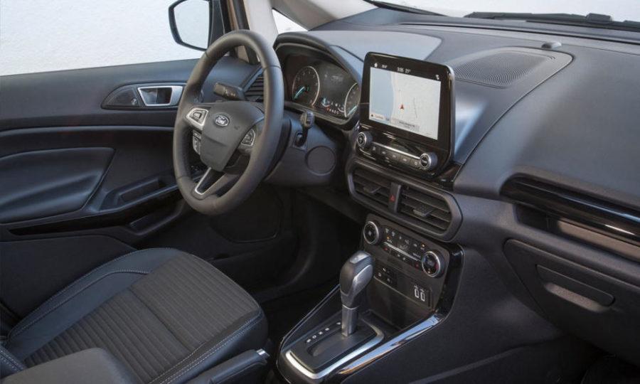 Интерьер Ford Ecosport
