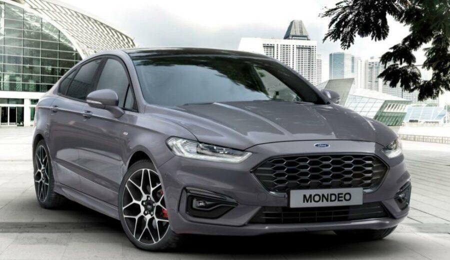Обновленный седан Ford Mondeo