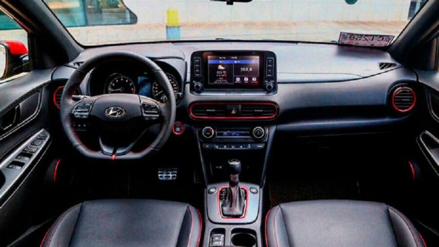 Интерьер Hyundai Styx