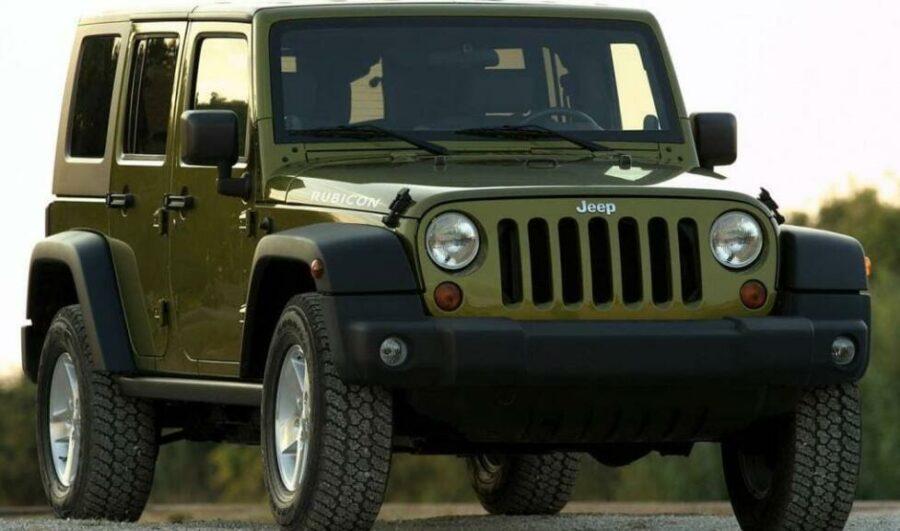 Надежный американский джип Jeep Wrangler III (JK)