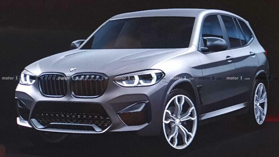 Фото нового кроссовера BMW X3 M