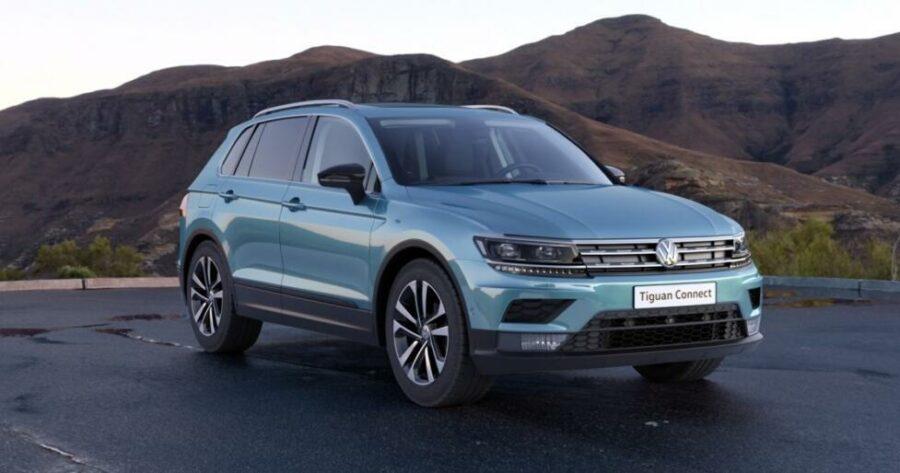 В России начали принимать заказы на новую версию Volkswagen Tiguan Connect